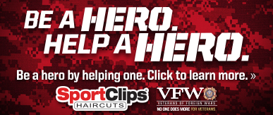 Sport Clips Haircuts of Valencia ​ Help a Hero Campaign